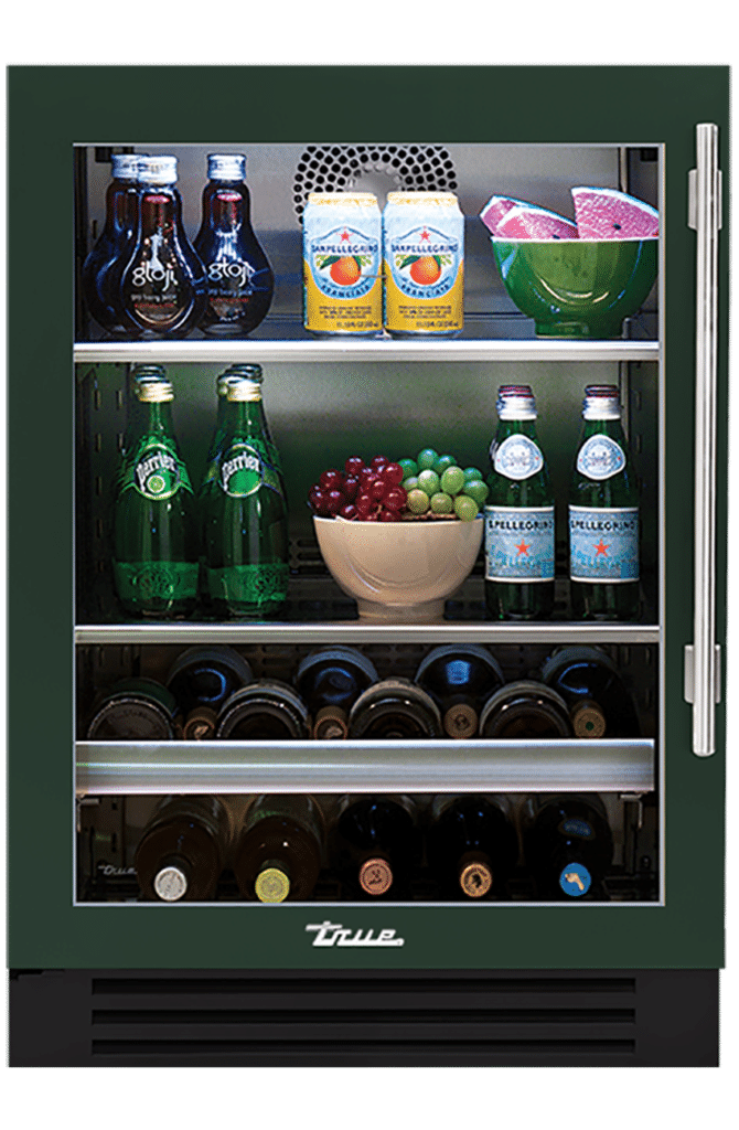 "24"" Undercounter Beverage Center in Emerald"