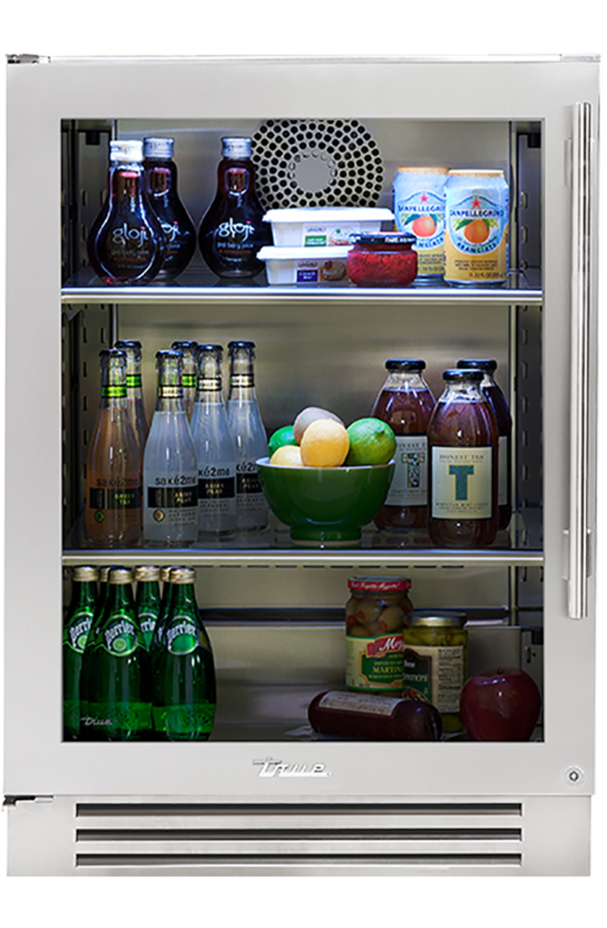 """24"""" Undercounter Refrigerator in Stainless"""