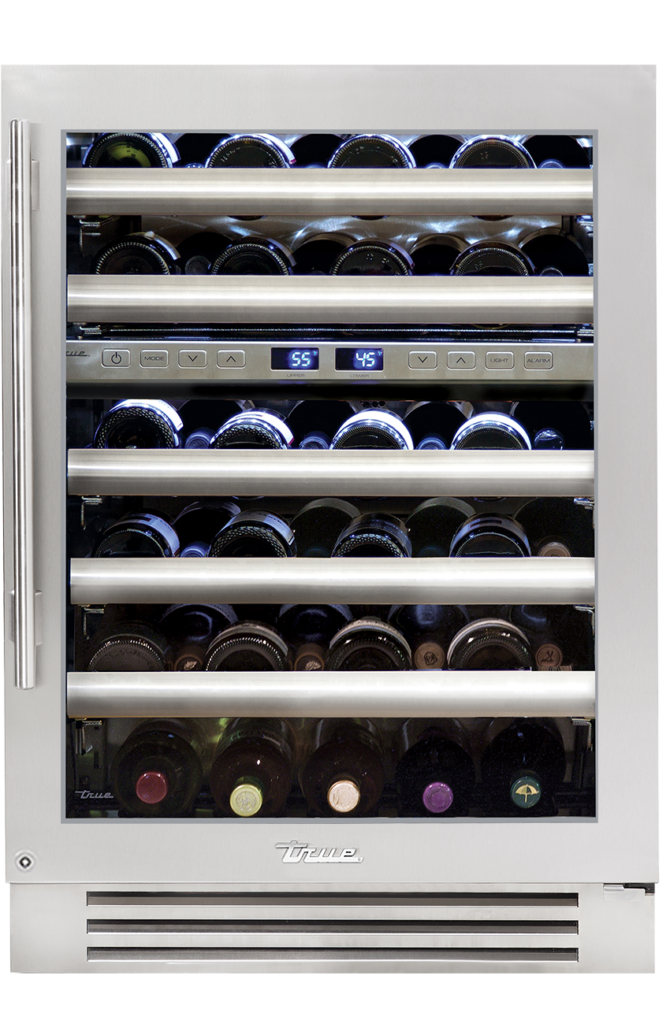 "24"" Undercounter Dual Zone Wine Cabinet in Stainless"