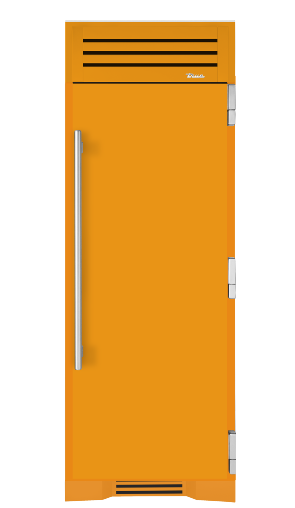 "30"" freezer column in saffron"