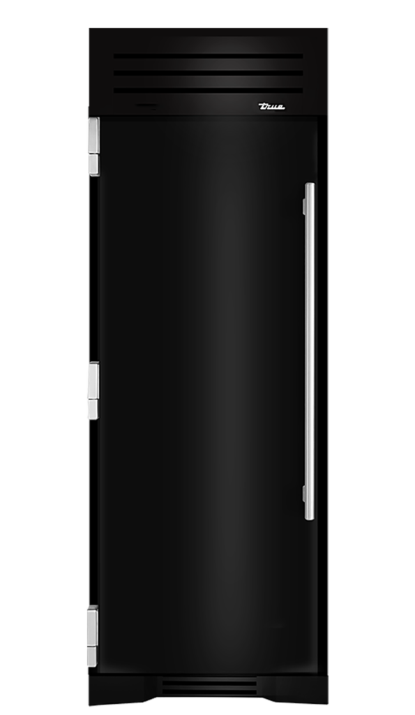 "30"" Refrigerator Column in Gloss Black"