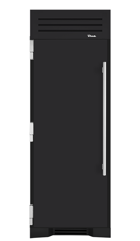 "30"" Refrigerator Column in Matte Black"