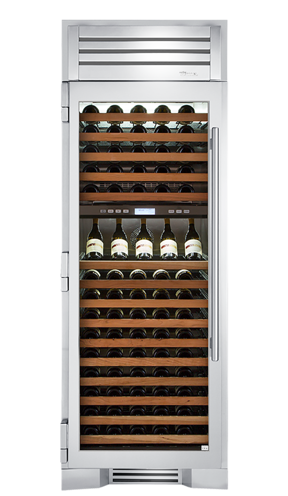 """30"""" Wine Column in Stainless"""