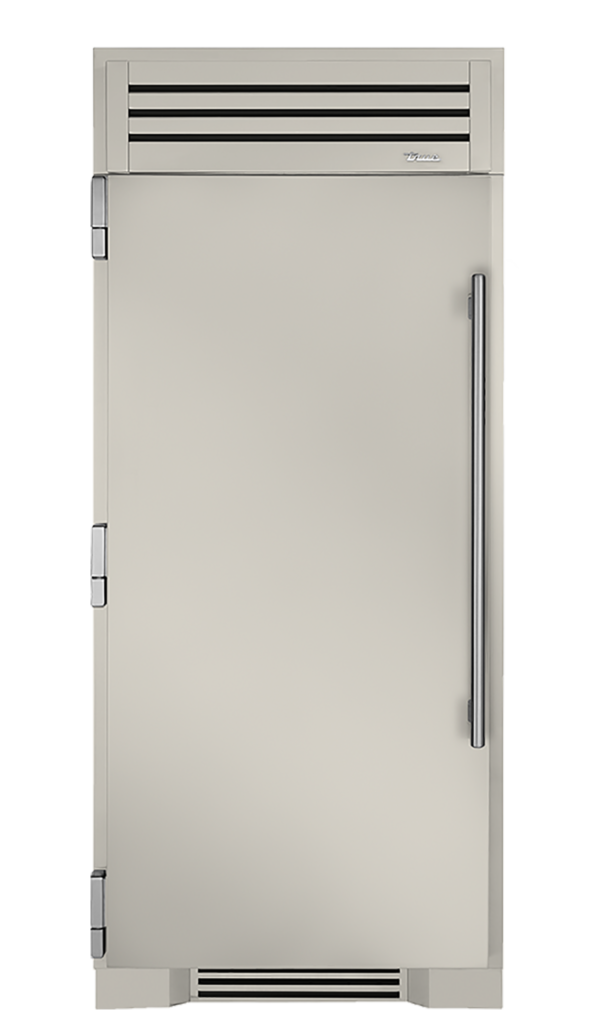 "36"" Refrigerator Column in Antique White"