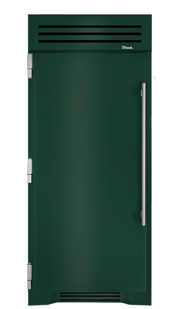 "36"" Refrigerator Column in Emerald"