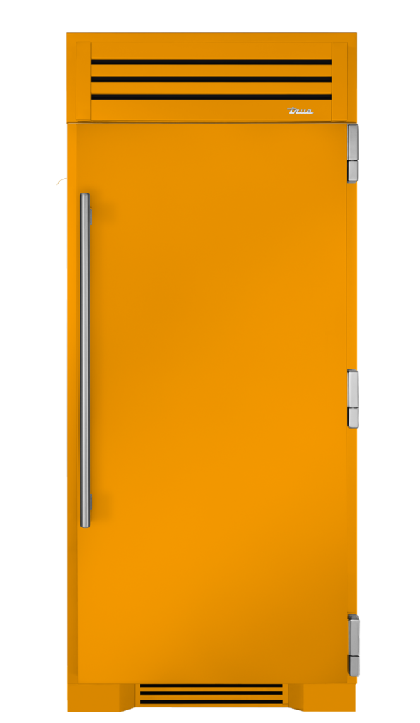 "36"" freezer in saffron"
