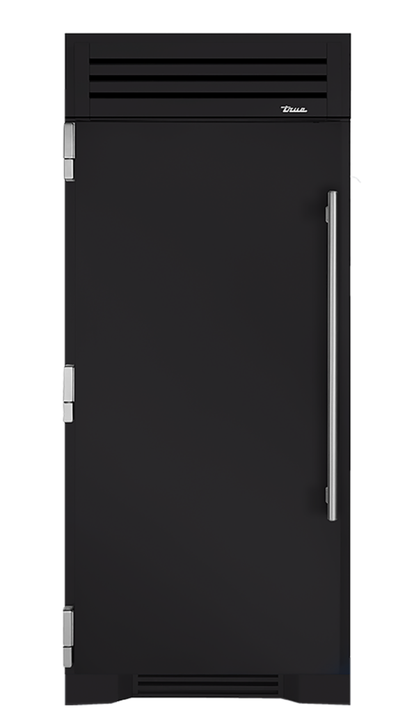 "36"" Refrigerator Column in Matte Black"