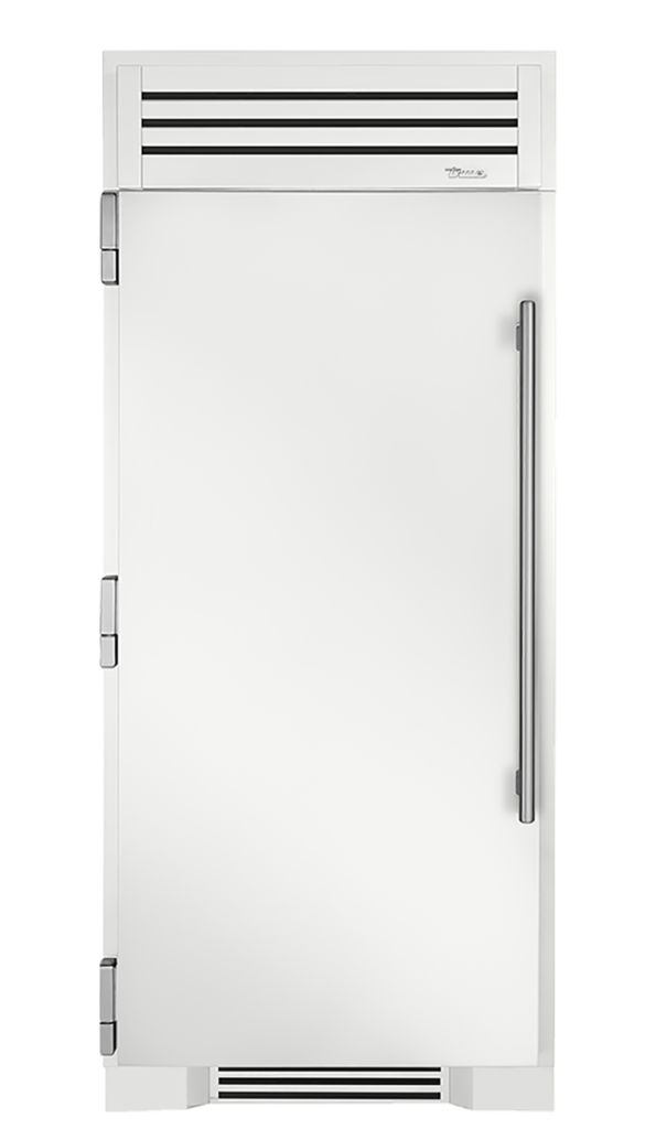"36"" Refrigerator Column in Matte White"