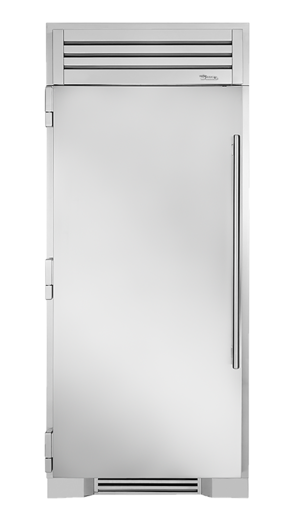 "36"" Refrigerator Column in Stainless"