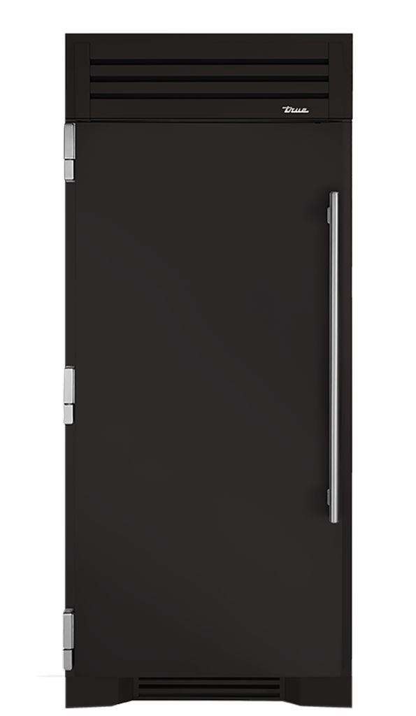"36"" Refrigerator Column in Ultra Matte Black"