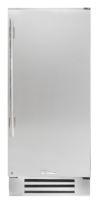 "15"" undercounter refrigerator in stainless"
