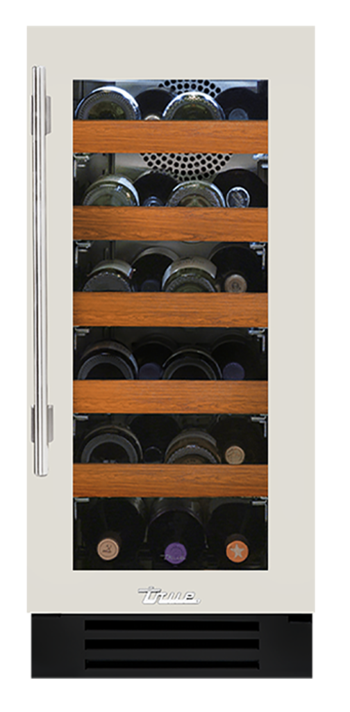"15"" Undercounter Wine Cabinet in Antique White"