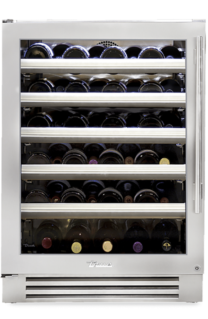 "24"" Dual Zone Undercounter Wine Cabinet in Stainless"