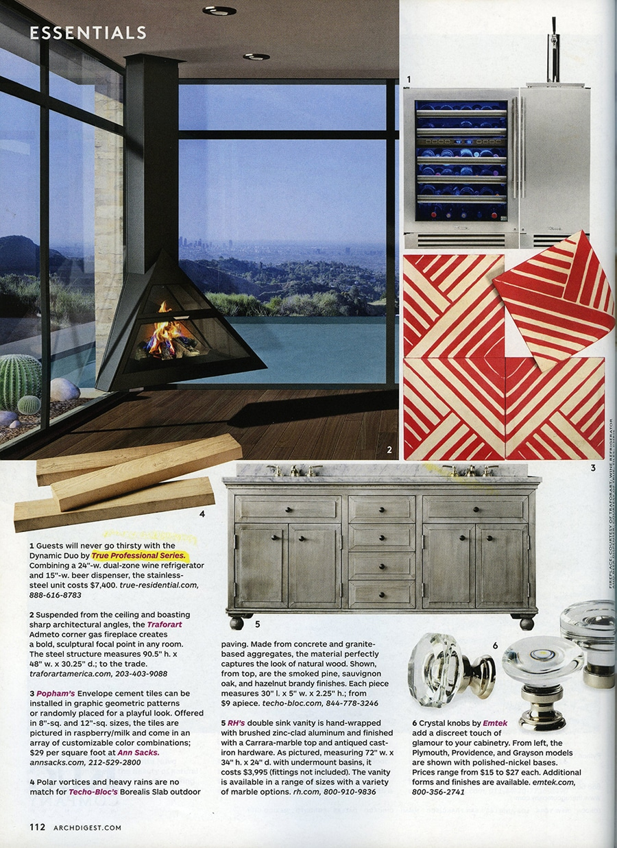 Architectural Digest November Feature