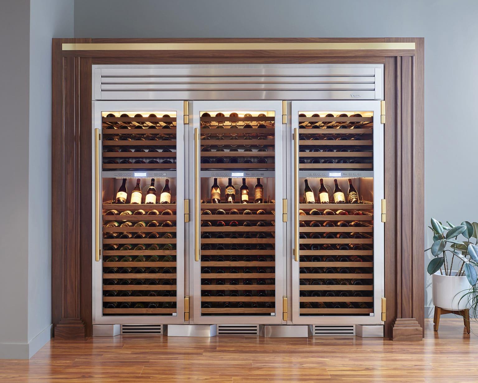 Cobalt Wine Columns