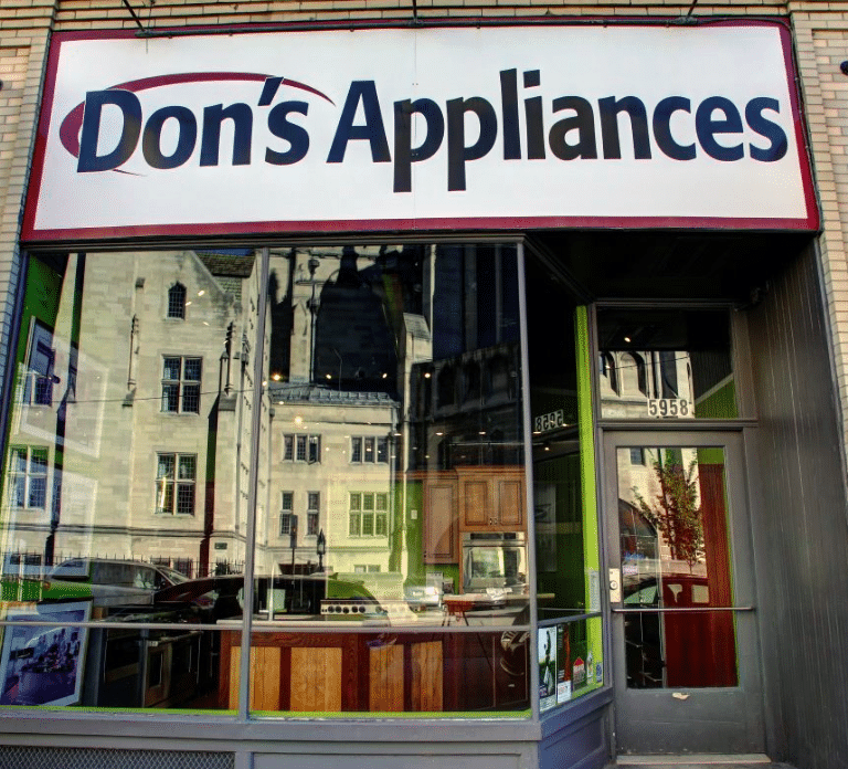 Don's Appliances Store Front