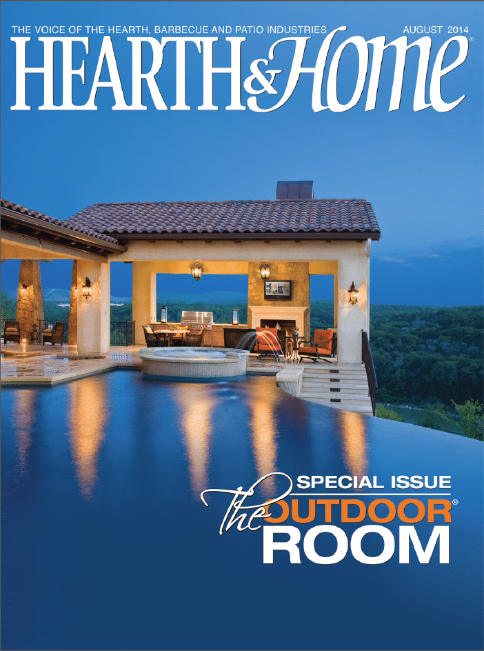 Hearth and Home August Cover