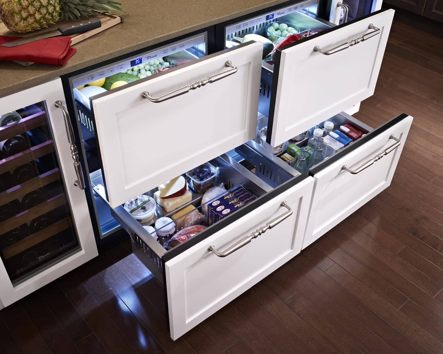 Hollywood Refrigerator Drawers