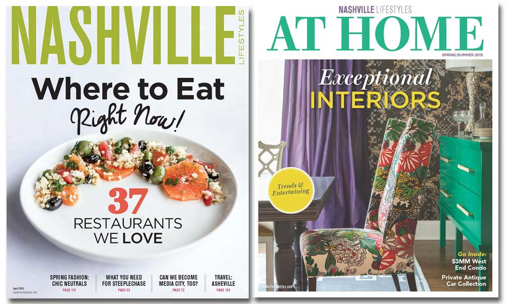 Nashville Lifestyles and At Home
