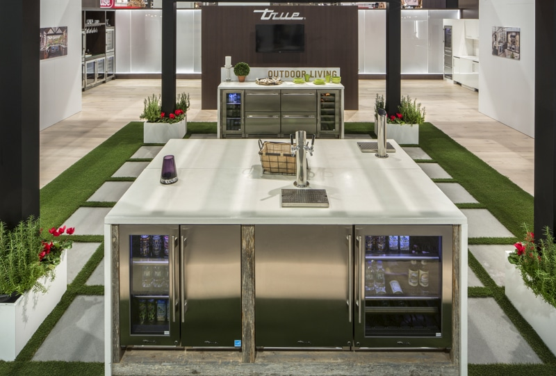 True KBIS Booth Outdoor