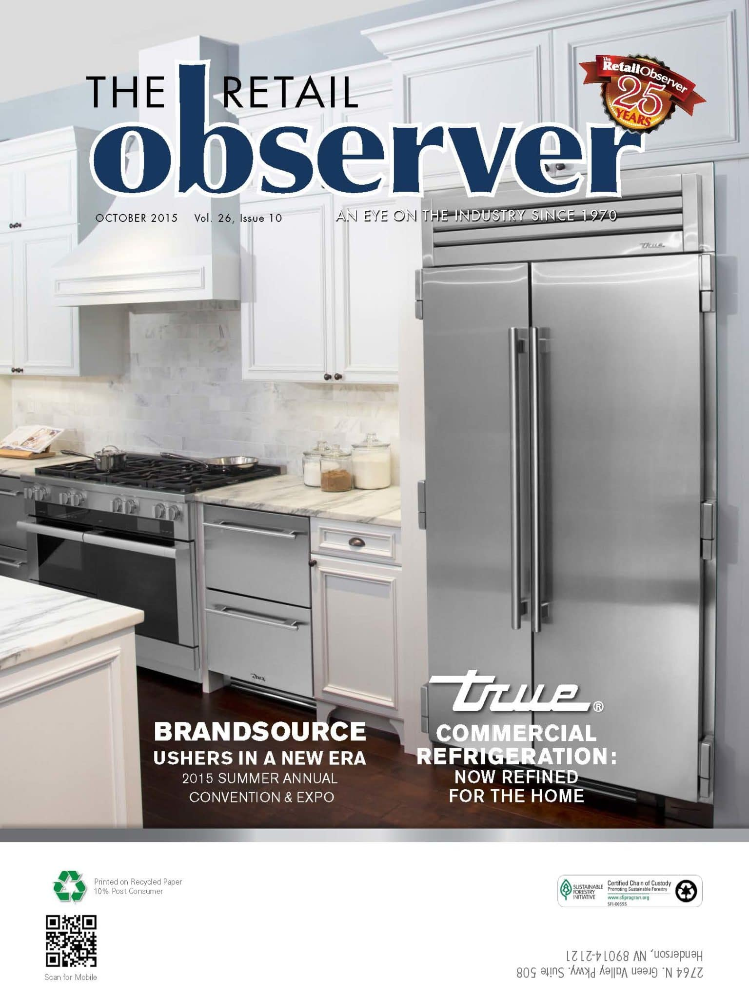 Retail Observer October 2015 Cover