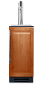 "15"" Undercounter Beverage Dispenser with Overlay Panel"