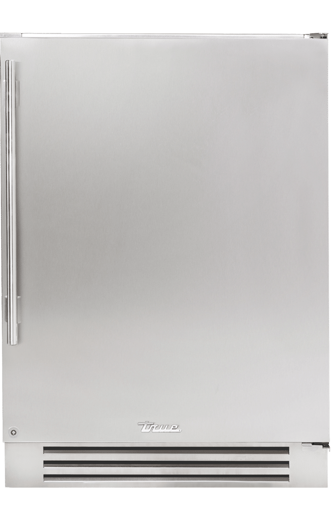 "24"" Undercounter Refrigerator in Solid Stainless"