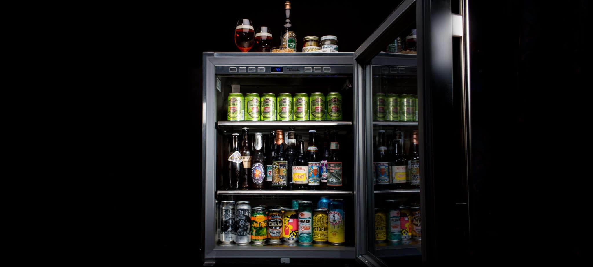 Gear Patrol Beer Fridge