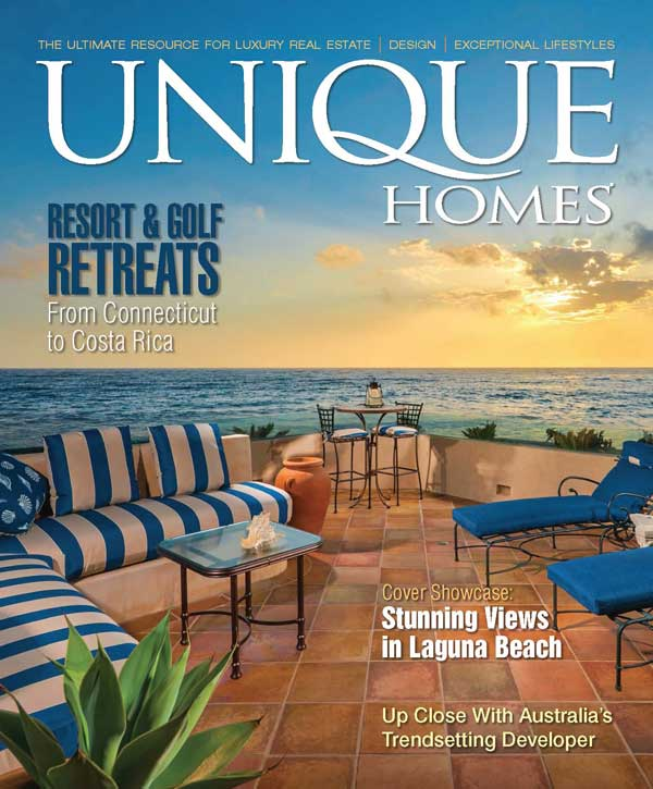 Unique Homes Fall Cover