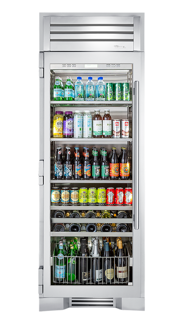 "30"" Beverage Center in Stainless"