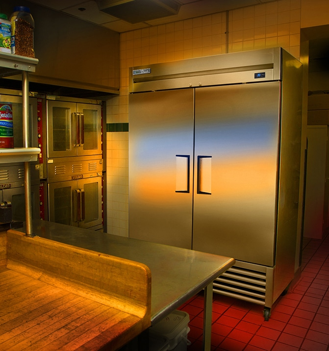 large commercial freezers