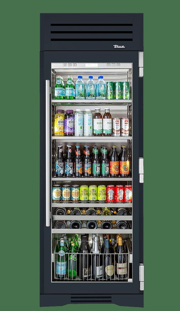 "30"" Beverage Center Right Hinge in Juniper"
